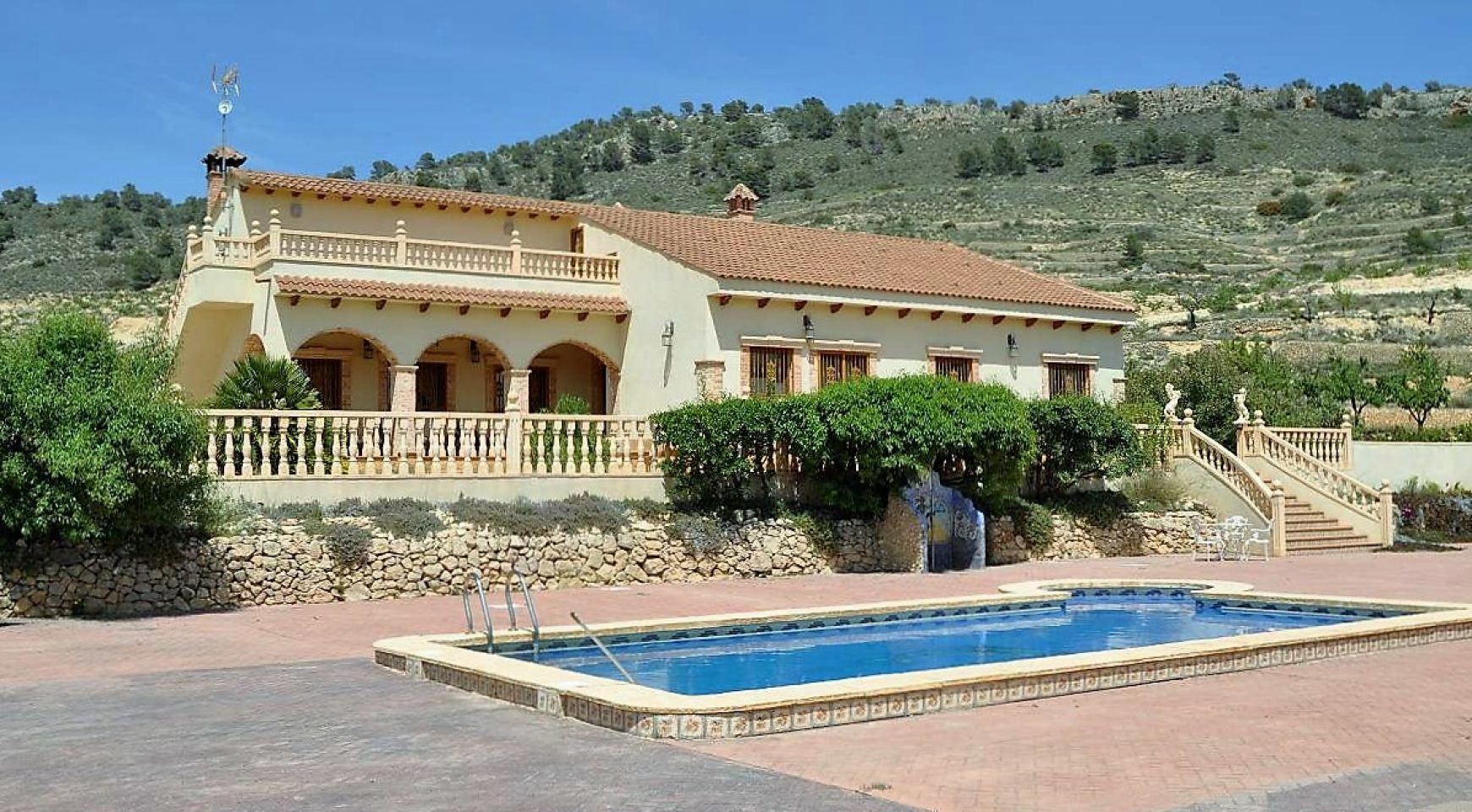 3 bed villa for sale spanish country homes for Spanish country houses